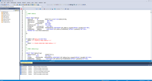 Rapid SQL code